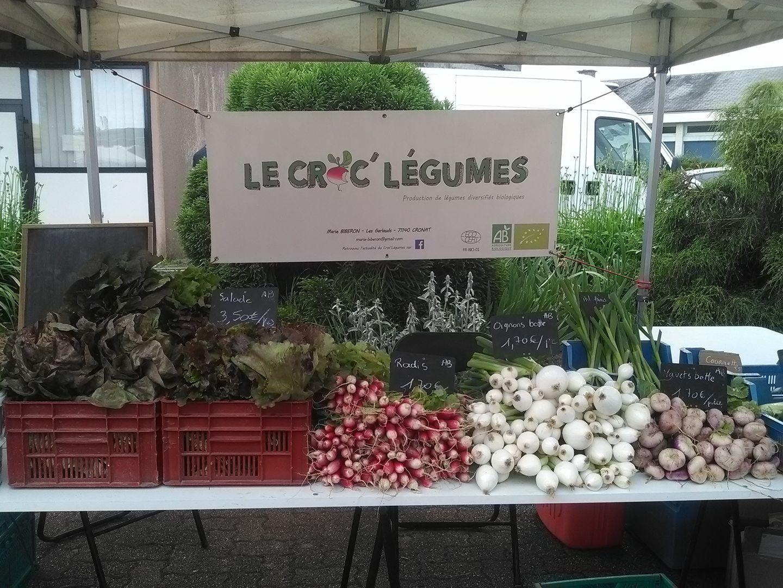 vente légumes à la ferme Croc légumes